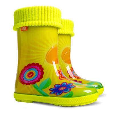 Дитячі резинові чоботи DEMAR купити недорого bab7d349dd242