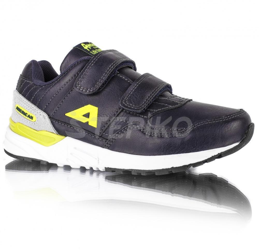 0b86252d795e84 Дитячі кросівки American club 179/18 (синій) купити недорого, ціна