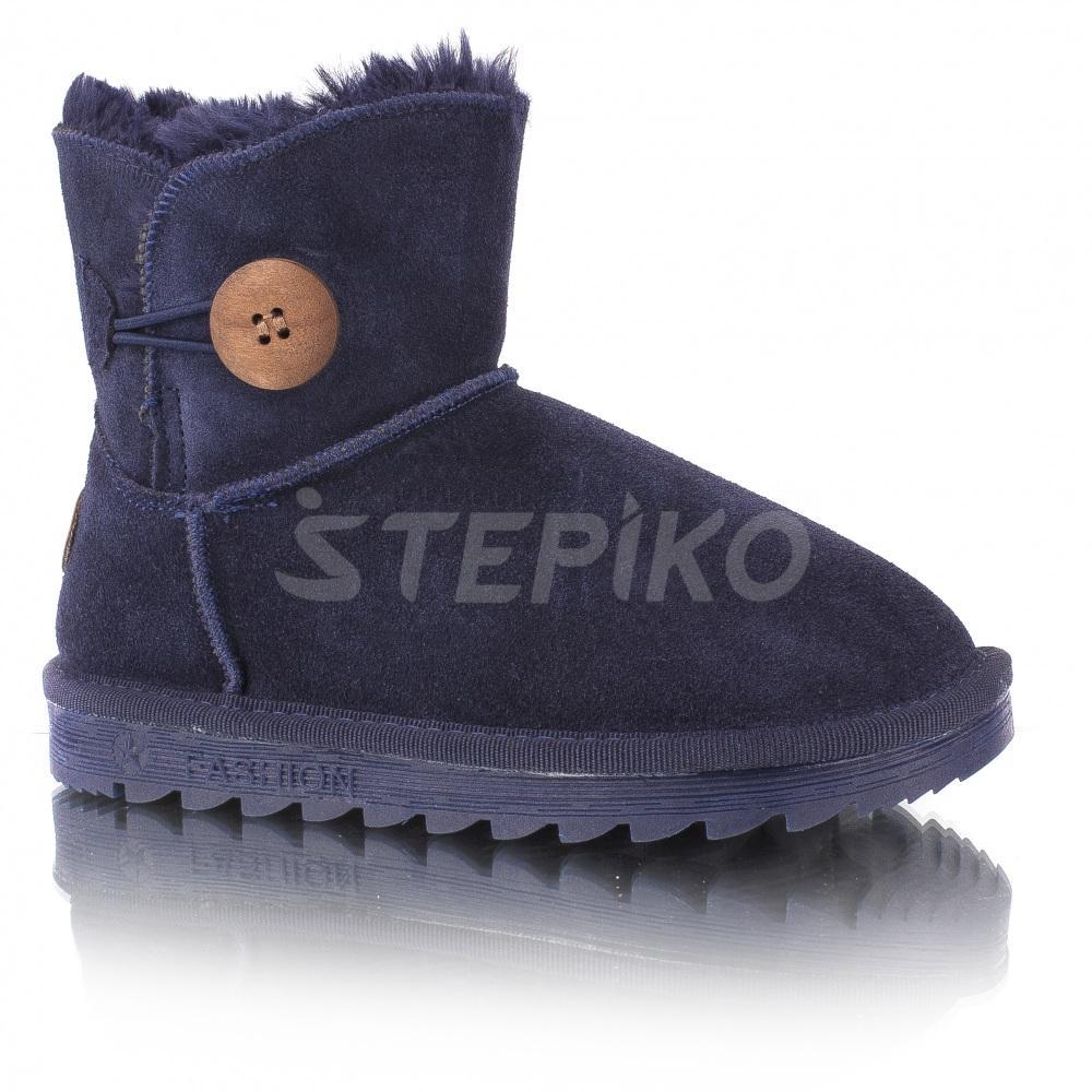 Дитячі зимові уггі (сині) купити недорого 03804629ab41d
