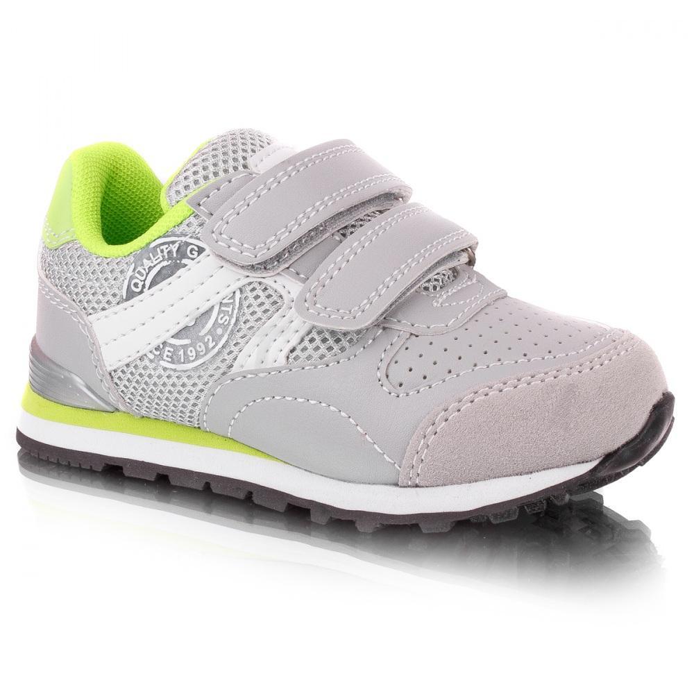 1c544e9f8570e1 Дитячі кросівки American club 220/19 (сірий) купити недорого, ціна