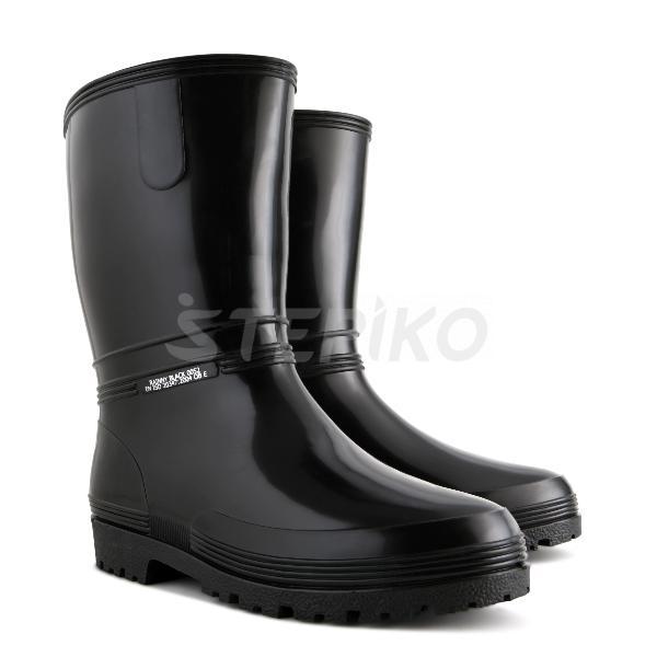 63e81fe30b1e01 Жіночі гумові чоботи DEMAR Rainny Black купити недорого