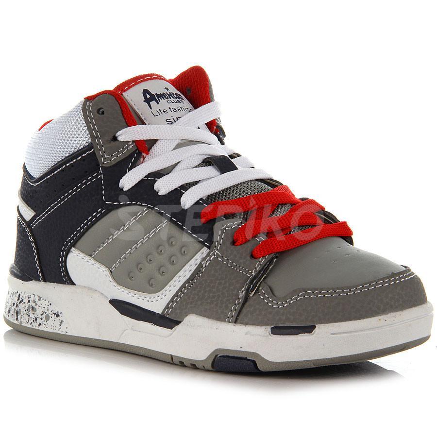 Дитячі кросівки - снікерси AMERICAN CLUB 107 15 (білий) фото 1 ... be3c7aa58a252