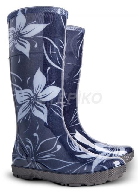 Жіночі гумові чоботи DEMAR HAWAI LADY EXCLUSIVE (КВІТИ) фото 1 ... f62ec6a4d8db8