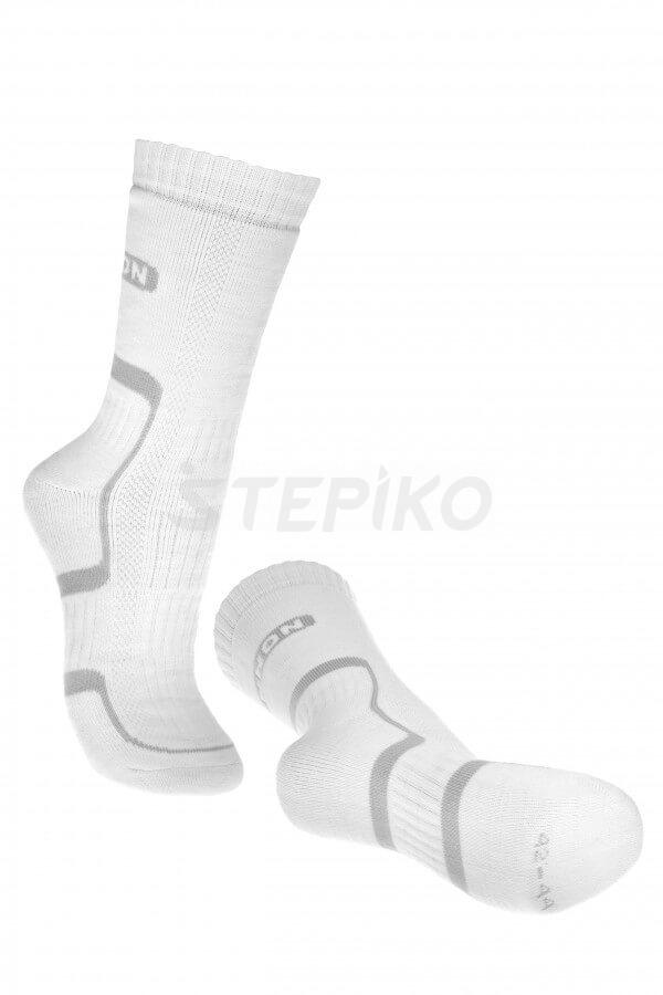 Мужские носки BENNON TREK SOCK White-grey фото
