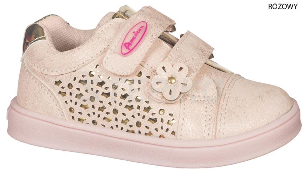 ДИТЯЧІ кросівки AMERICAN CLUB 178 180 17-1 рожевий купити 0a82f75b97123