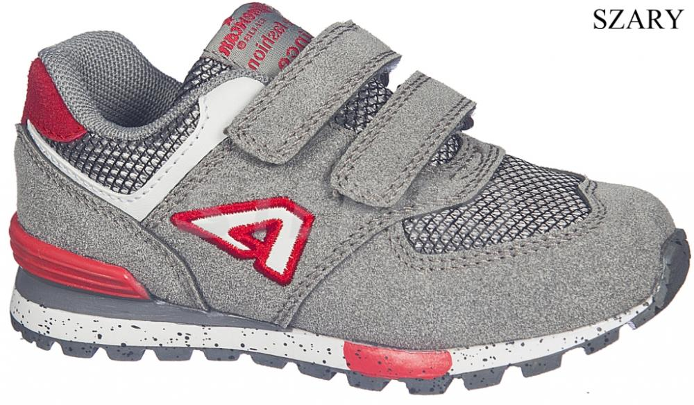 2987db72a49633 Дитячі кросівки AMERICAN CLUB 225/17 сірий краща ціна в STEPIKO