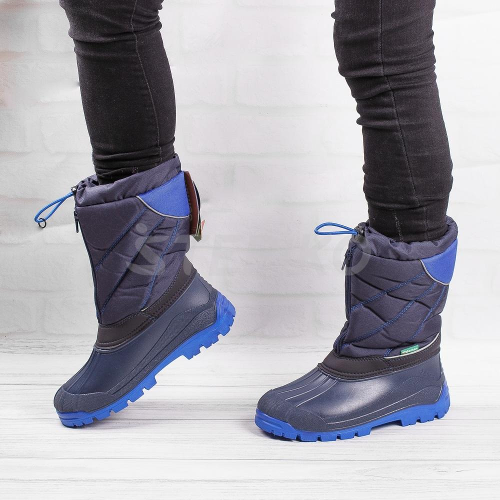 Демар Нико синего цвета - фото на ногах
