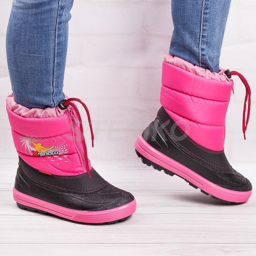 Сноубутси для девченки - Демар Кенни розовые