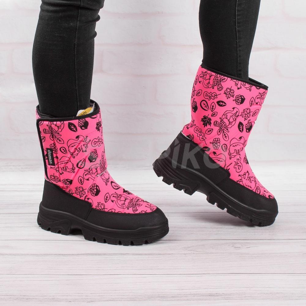 Демар Ханну рожевий принт - фото на ногах