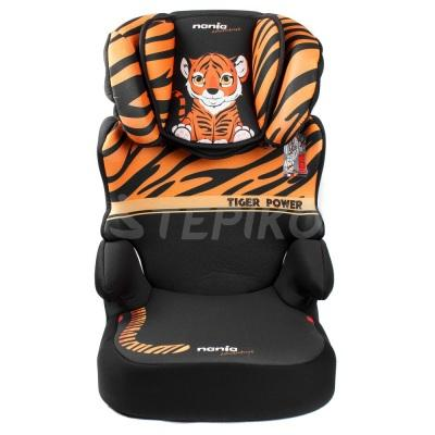Автокрісло 15-36 кг Nania Befix SP Tiger 2020 (тигр)