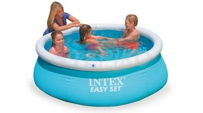 Надувной бассейн Intex Easy Set 28101 Синий (54402)