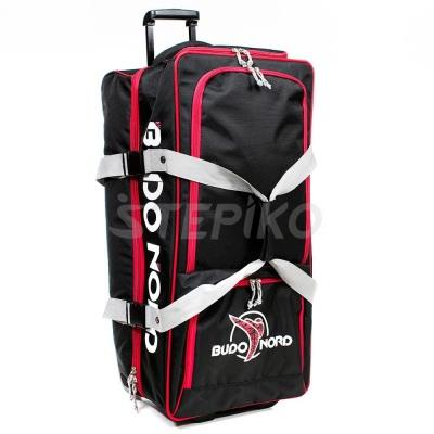 Cумка дорожная Budo-Nord Suitcase Rolling Rascal Bag Red / Black (BB1001) фото